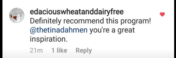 Tina Dahmen review