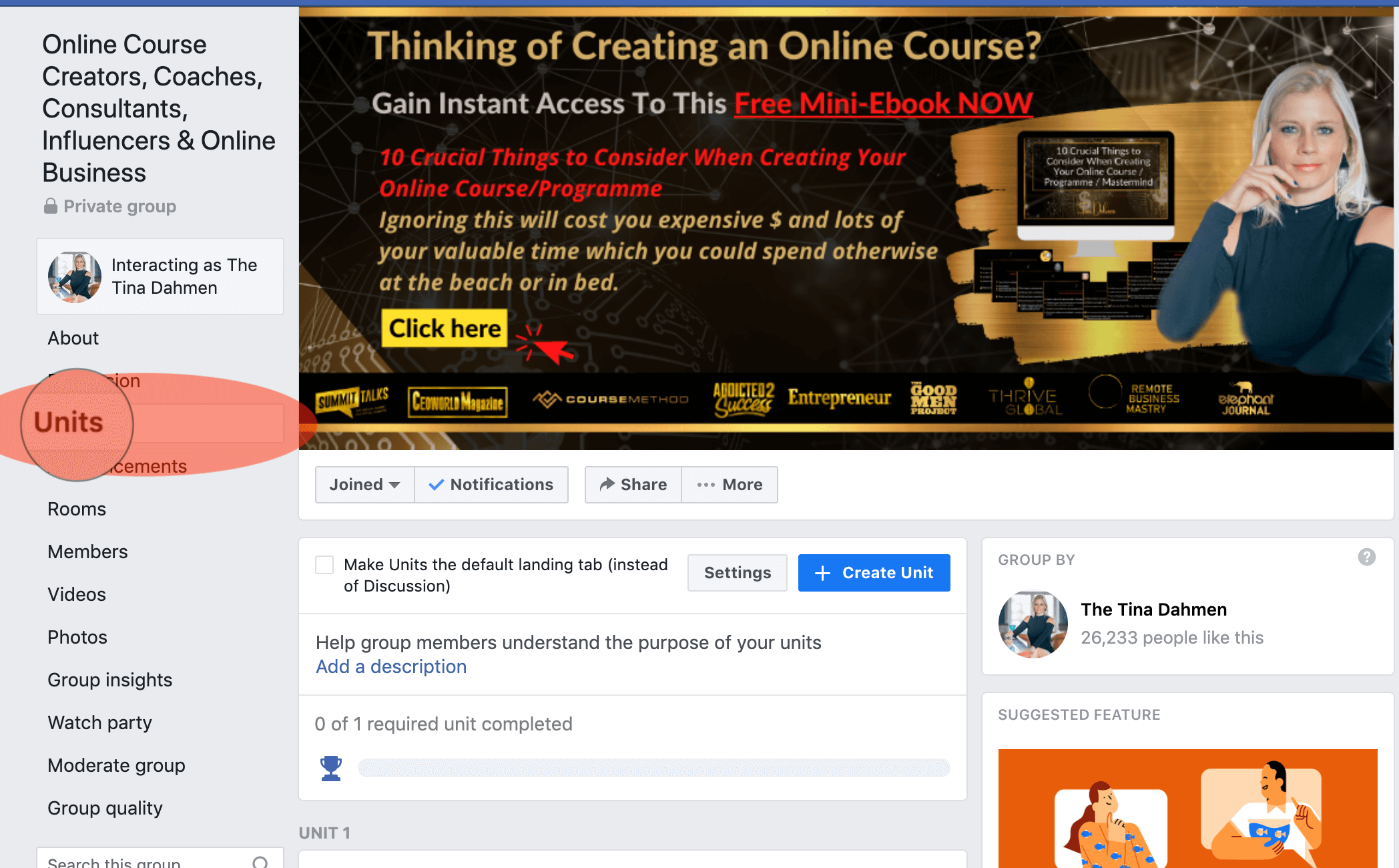 How to create an online course for free